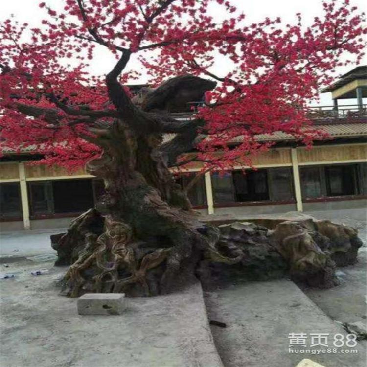 依蘭縣假樹廠家景區假樹定制 依蘭縣水泥假樹產地