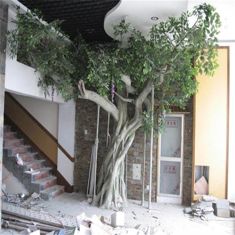 額濟納旗假樹廠家主題餐廳假樹公司 額濟納旗水泥假樹支持定制