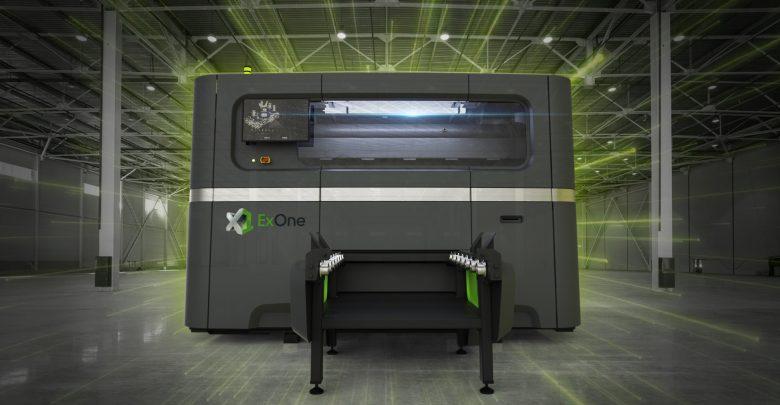 ExOne大型金屬陶瓷粘結劑噴射3D打印機X1 160Pro