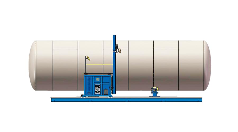 廠家直供HZG3050T罐體自動焊接機,金魯鼎新品推薦