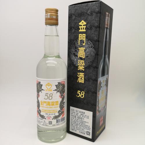 浙江金门高粱酒 大红标台湾高粱酒58度750mL