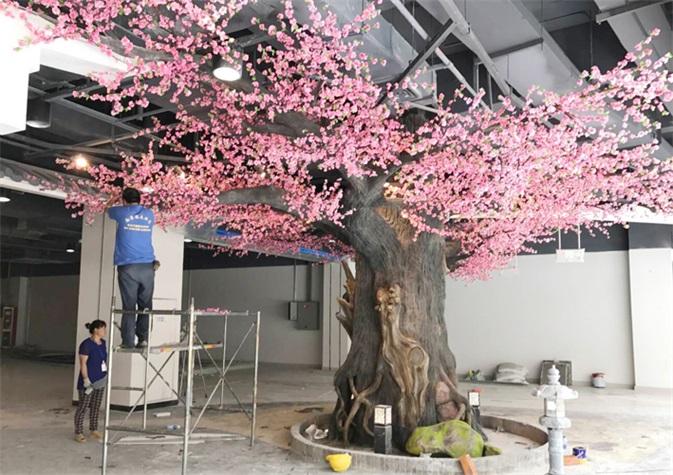 新疆室內仿真樹_室內仿真樹廠家_天成怡景景觀造景工程