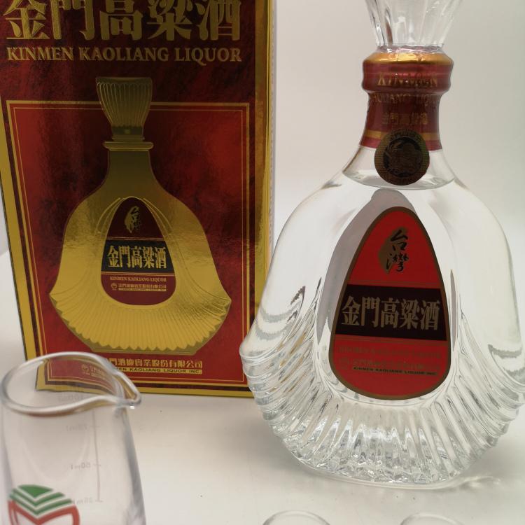 桂林金门高粱酒58度600ML红盒 八八坑道淡丽42度高粱酒