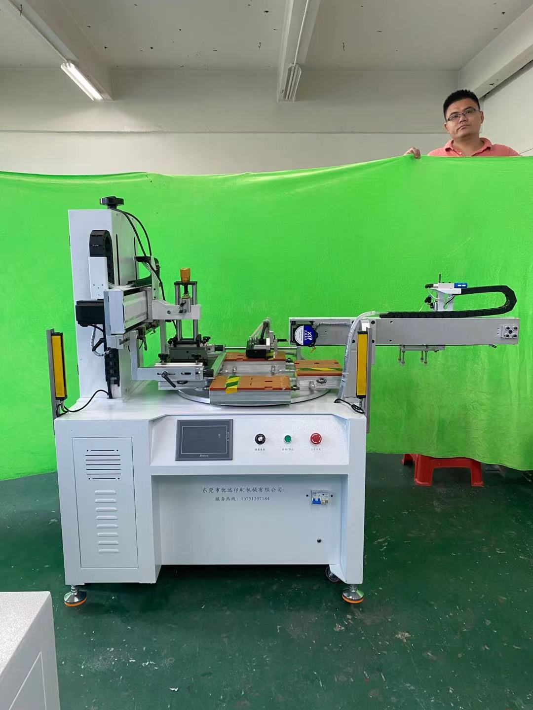 蘇州市絲印機廠家,車牌標牌絲印機,轉盤絲網印刷機