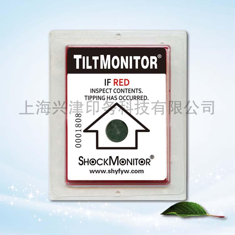 TiltMonitor 方形 傾斜標貼