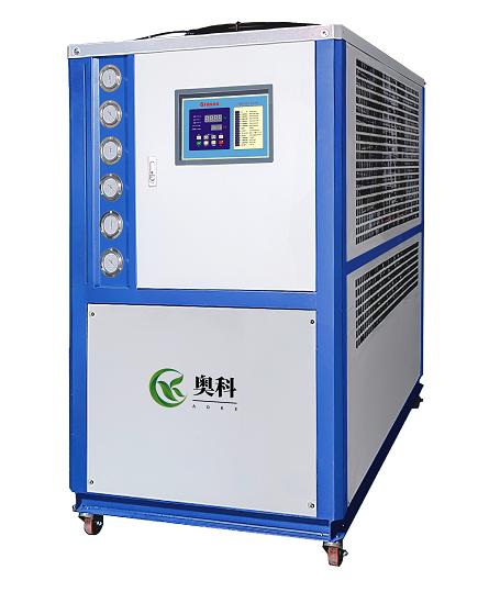 反應釜專用冷水機 中頻冶煉爐專用冷水機 風冷箱式冷凍機