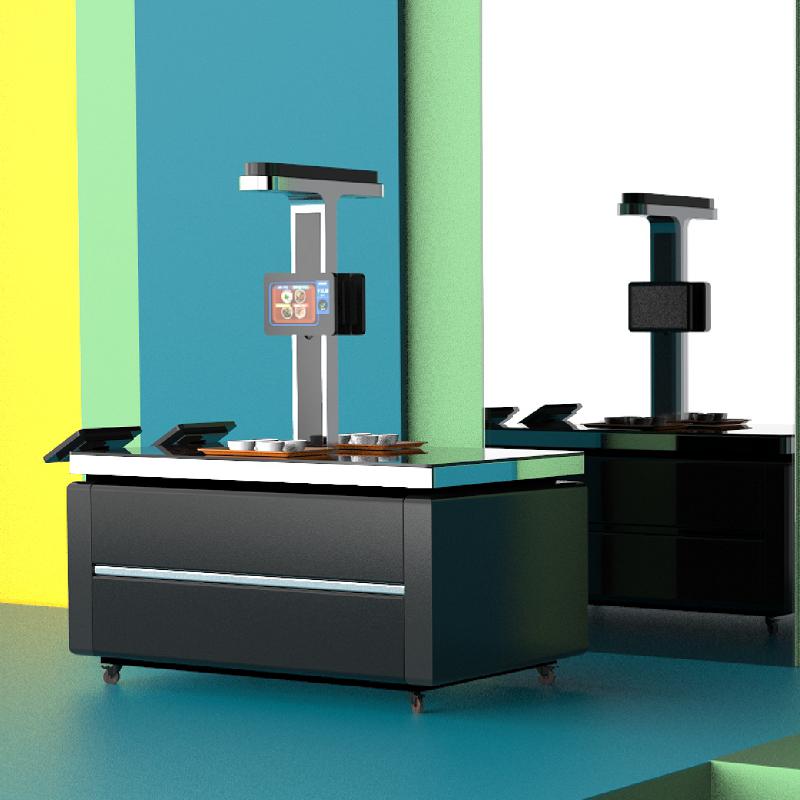 广州戈子科技 双通道视觉结算台  智能识别 智能支付