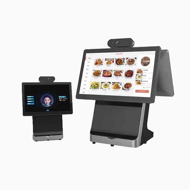 戈子科技智慧食堂 桌面式点餐机(含人脸) 功能强大