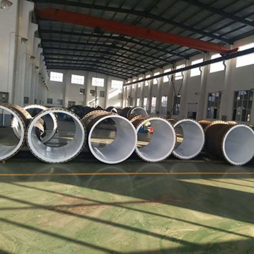 河南暢鳴熱滾塑碳鋼水處理防腐襯塑管道