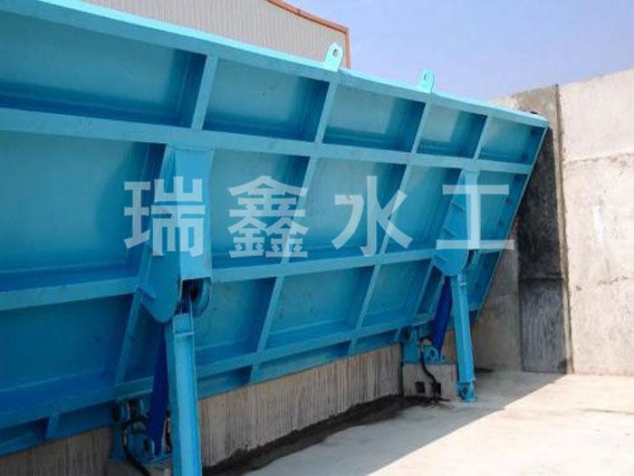 浙江水力自控翻板钢闸门定做瑞鑫水工