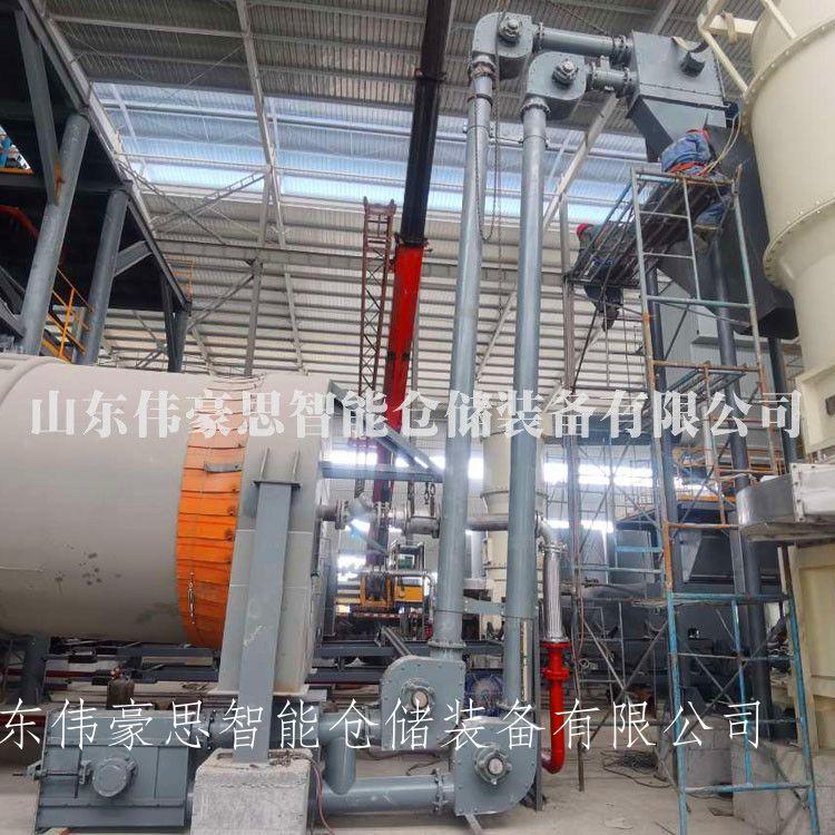 長沙密封式管鏈輸送系統 煤灰管鏈粉料輸送機