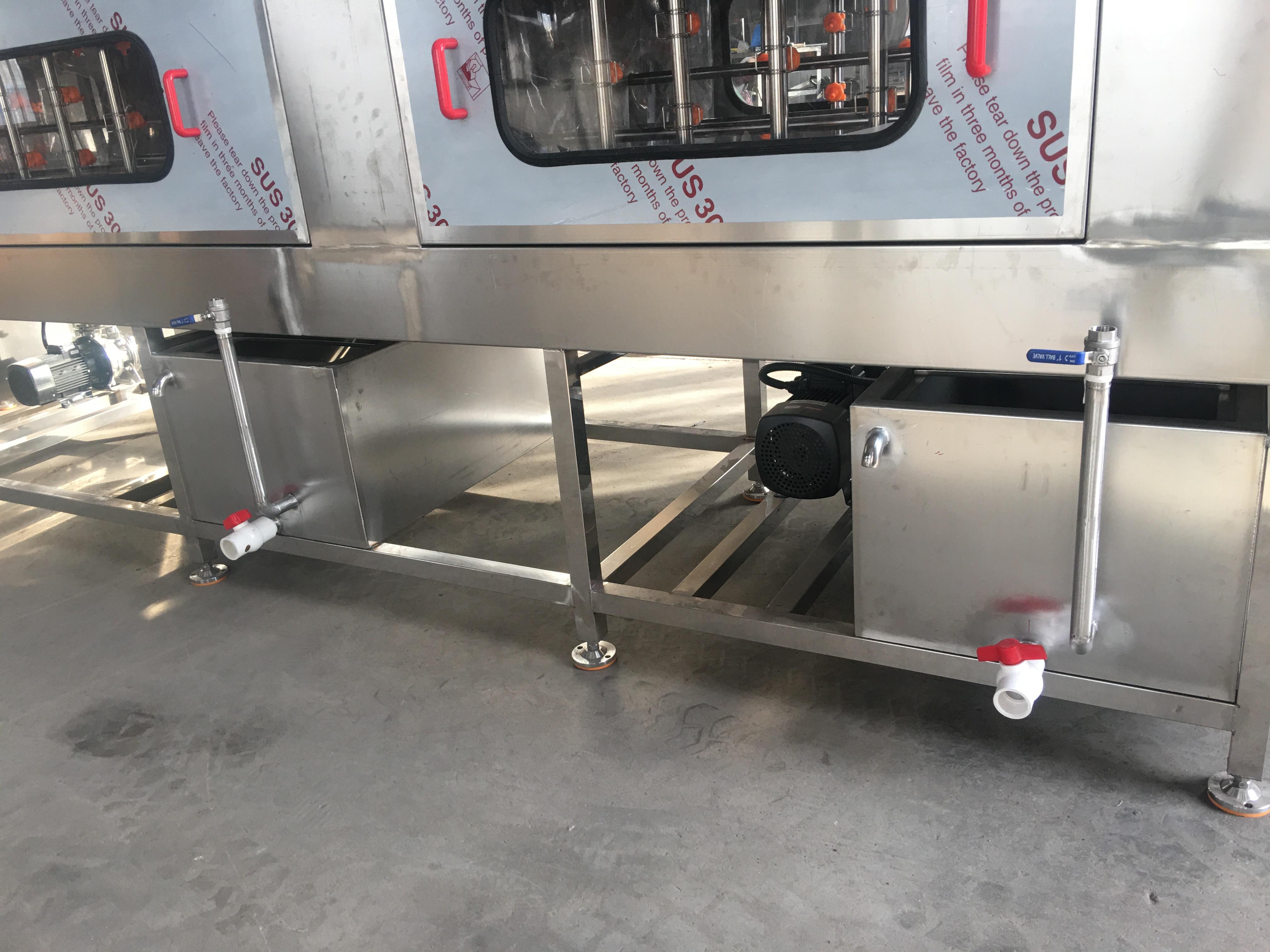 塑料豆制品筐清洗机 食品配送筐清洗机 高压喷淋洗筐机