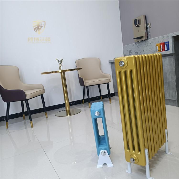 低碳環保鋼制四柱散熱器-GZ406鋼制柱型散熱器