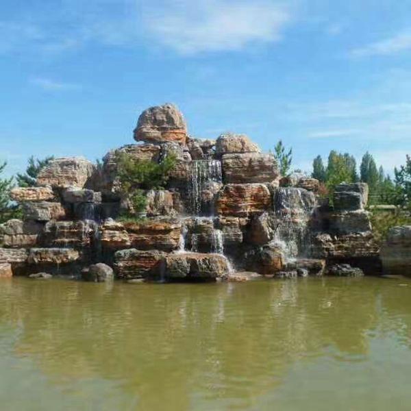 碩銘景觀 涿州 景觀假山石 廣場假山