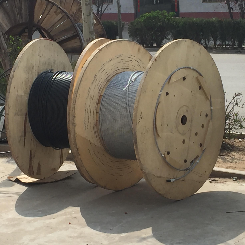 光缆厂家生产ADSS电力光纤光缆通信皮线大量批发