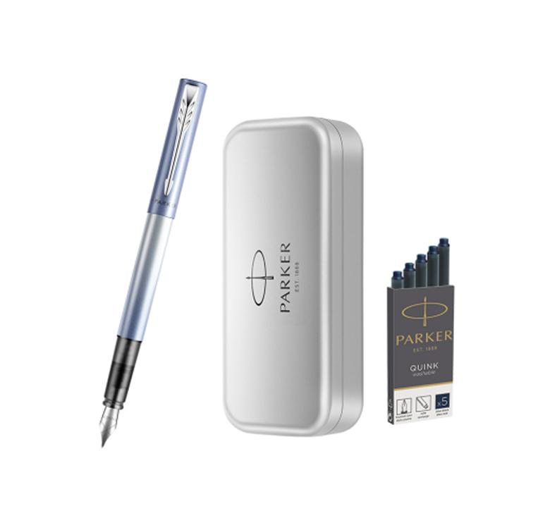 派克筆禮盒定制-派克威雅XL櫻花藍墨水筆單支禮盒