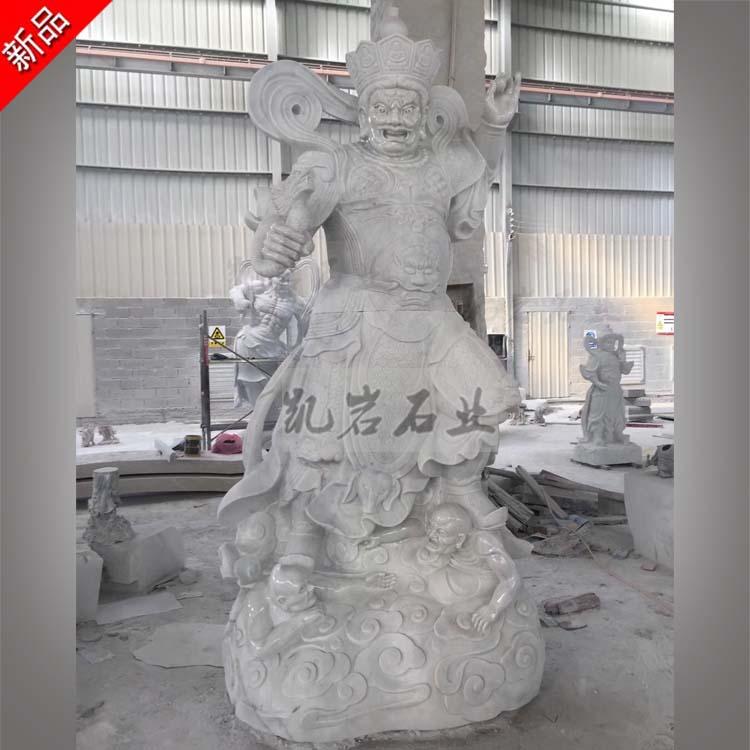 出售石雕四大天王 佛教石雕四大金剛 惠安石雕廠家