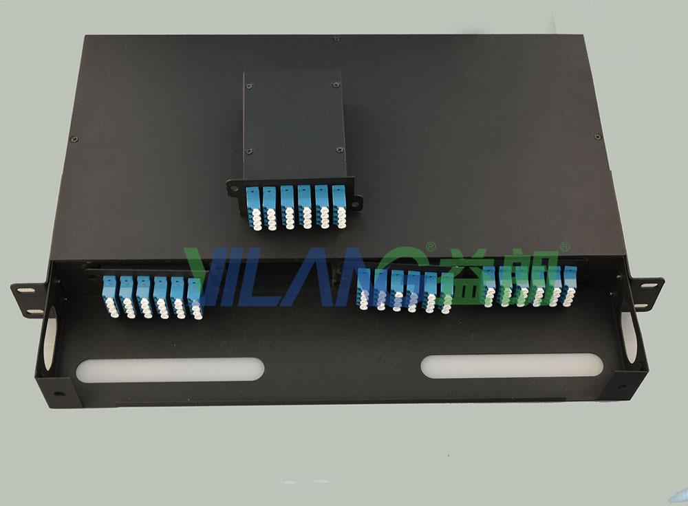 48芯MPO預端高密度光纖配線架
