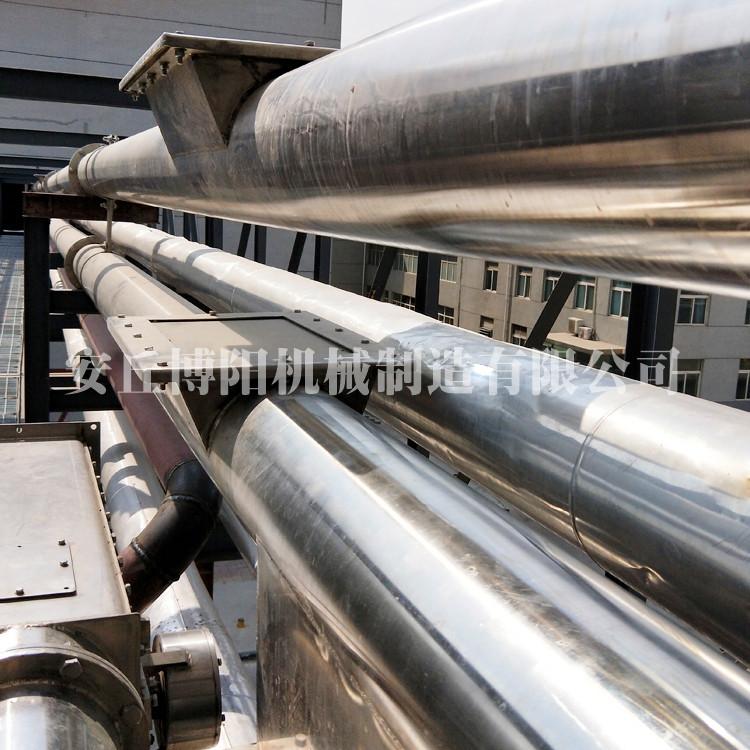 硅微粉管鏈提升機 管鏈輸送機廠家出售