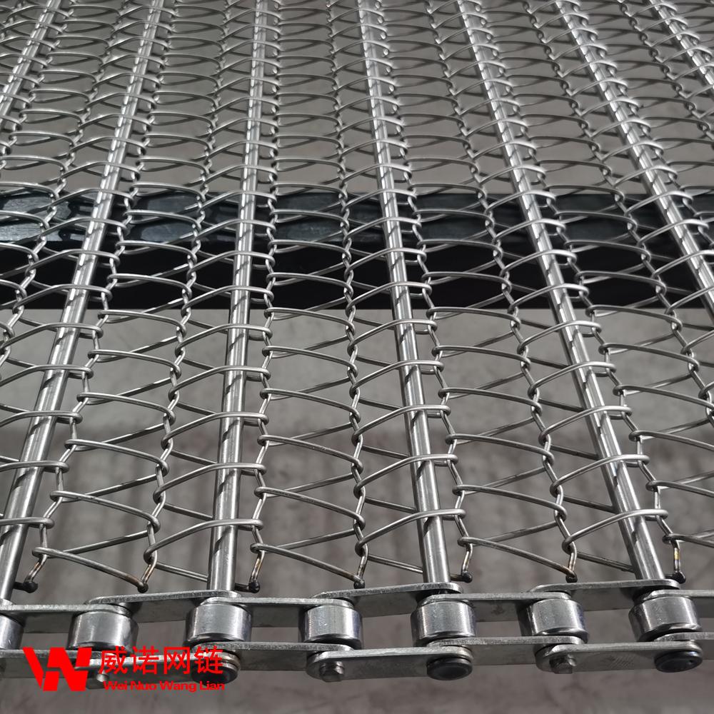 威諾隧道式烘干線網帶 輸送機械網鏈 加工定制
