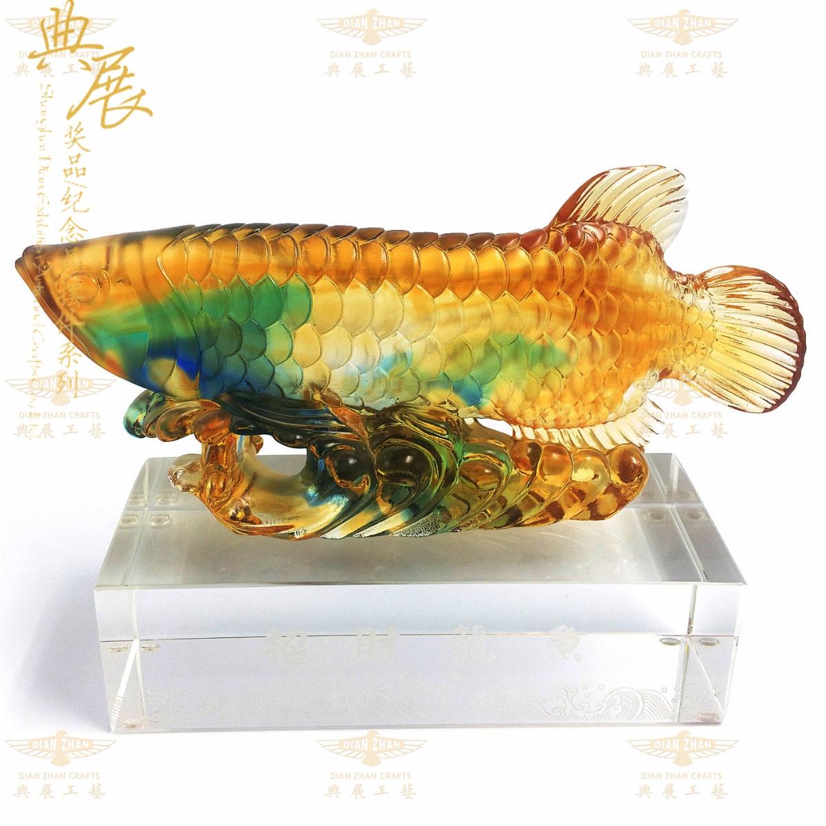 琉璃生肖賀歲紀念品批發,武漢企業定做嘉賓禮品,銀行客戶紀念品
