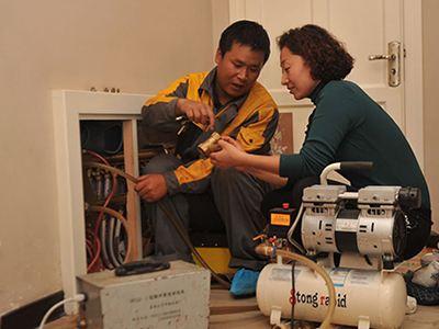 西安丰禾路清洗暖气管道@清洗地暖暖气片公司