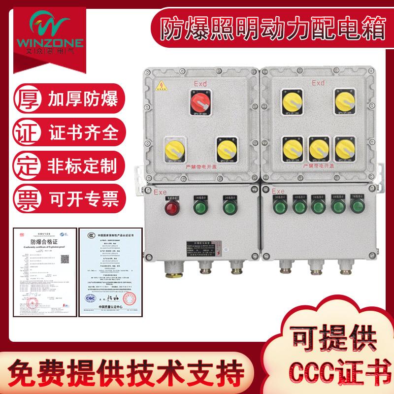 BXMD户外防爆照明动力检修电源插座配电箱