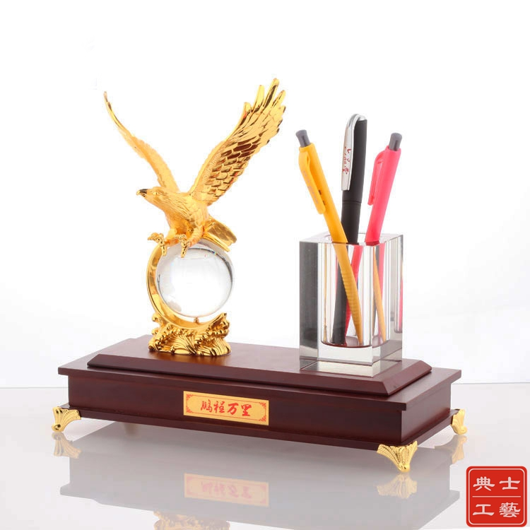鹏程万里摆件、商会周年纪念品、理事会就职庆典礼品定做厂家