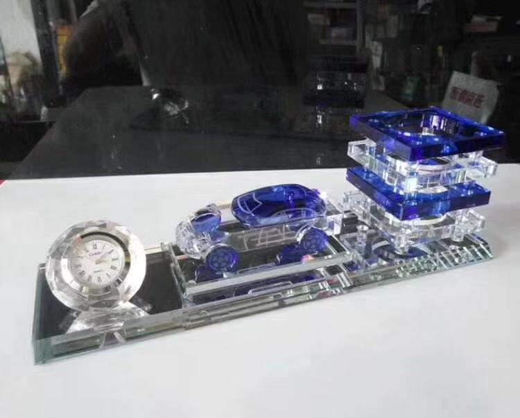 钦州哪里可以定制水晶纪念品,公司成立周年摆件商业交流会礼品