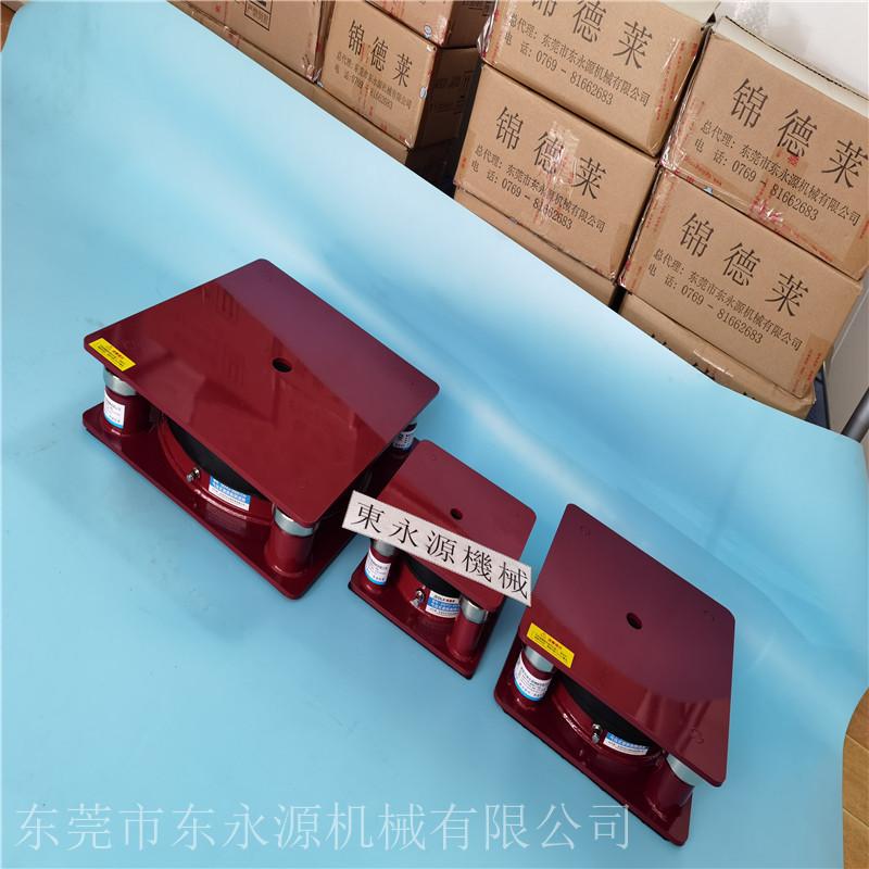 楼上液压机减震脚垫,锦德莱建筑材料试验机垫脚找东永源