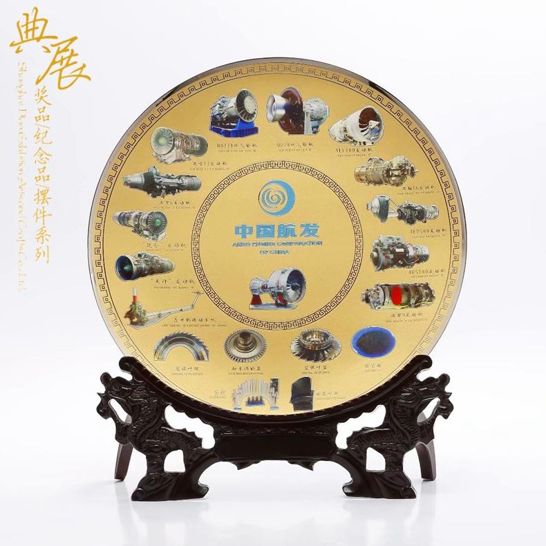 批发纯铜合作奖牌,项目合作纪念品, 铜制电镀荣誉奖牌制作厂家